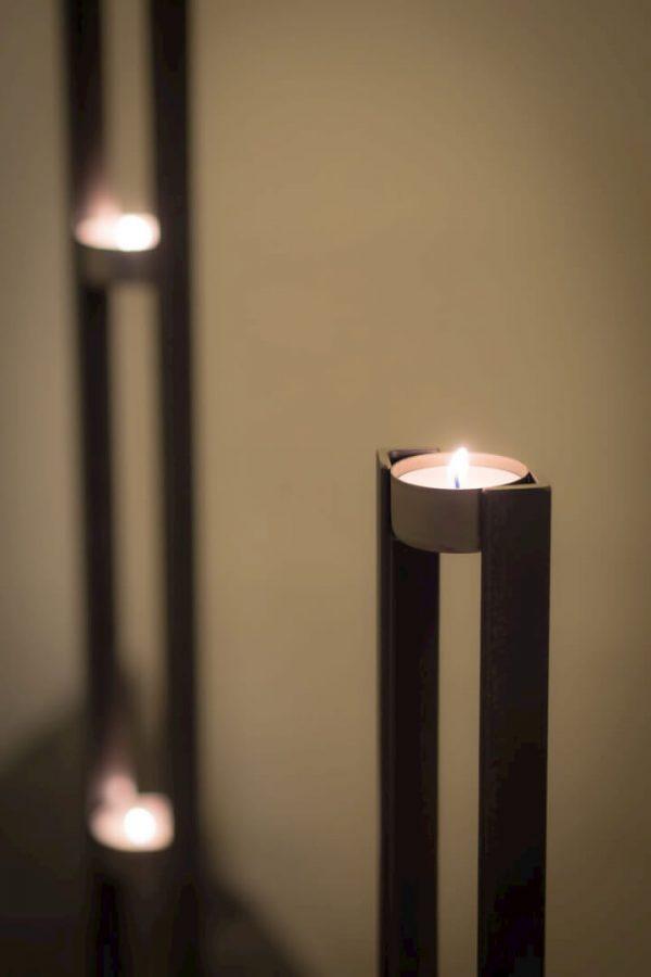 świeczki na stół i regał